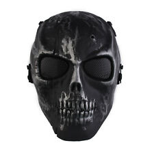 Skull Skeleton Full Face Protection Mask For Airsoft Paintball Outdoor CS Game