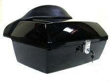 MOTORCYCLE TRUNK for HARLEY, YAMAHA, HONDA, V ROAD STAR, VULCAN, SHADOW and MORE