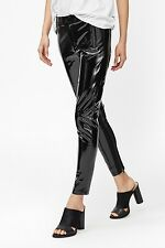 French Connection Patent Skinny Zip Up Trousers size 14 SOLD OUT !!!
