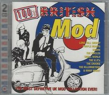 VARIOUS ARTISTS - 100% BRITISH MOD - (still sealed double cd) - MODSKA DCD 8