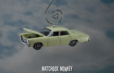 '67 Ford Custom 4 Door Christmas Ornament 1/64 Vintage Style 1960's Muscle Car