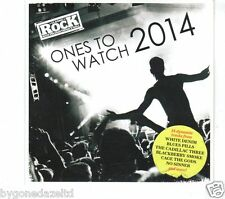 Ones To Watch 2014, 15 tracks  Classic Rock CD(Free UK Post)