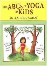 The ABCs of Yoga for Kids Learning Cards by Teresa Anne Power (2011,...