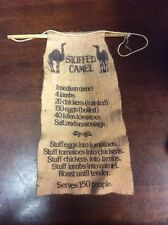 Recipe for Stuffed Camel - Vintage Piece - Old & Dirty