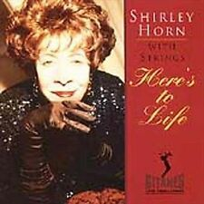 HERE'S TO LIFE [SHIRLEY HORN] [602498840382] NEW CD