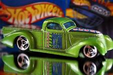 2002 Hot Wheels Planet Hot Wheels.com Cyber energy car Super Smooth green