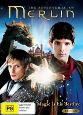 The Adventures Of Merlin Season 1 (DVD 2009, 4-Disc Set) TV Series, VG Condition