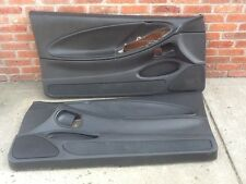 Door Panels Panel Trim Ford Mustang GT LX Cobra 99 04 Black LH RH Mach 460