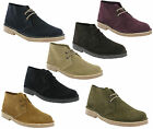 MENS CLASSIC ORIGINAL SUEDE LEATHER LACE-UP DESERT ROAMERS BOOTS SHOES UK 4-12