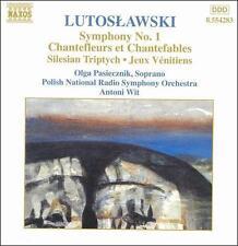 Lutoslawski: Symphony No. 1; Chantefleurs et Chantefables; etc. (CD 1999) EX