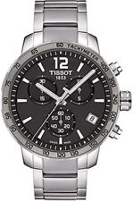 T0954171106700 Tissot Quickster Mens Watch Quartz Athracite Dial Stainless Steel