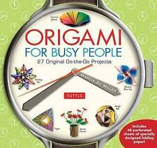 MARCIA JOY MIL-ORIGAMI FOR BUSY PEOPLE  BOOK NEW