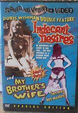 Something Wierd Video - Doris Wishman Double Feature (DVD, 2004) RARE BRAND NEW