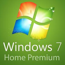 Microsoft Windows 7 Home Premuim 32 | 64bit Genuine Full Version License COA Key