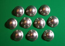 BARCLAY/MANOIL LEAD TOY SOLDIER REPLACEMENT HELMETS-PLAIN TOP LOT OF 10!
