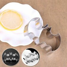 Batman Cookie Cutter Mould Smooth 1PC Stainless Steel 3D Solid Bat Mold