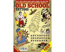 OLD SCHOOL Tattoos Flash Design Book 64-Pages Traditional Sketch Art Ink Supply