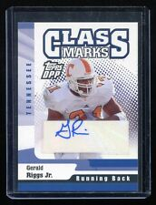 2006 Topps Draft Picks and Prospects Class Marks #CM-GR Gerald Riggs Jr RC Auto