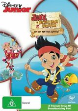 Jake And The Never Land Pirates - Yo Ho, Mateys Away! (DVD, 2012)
