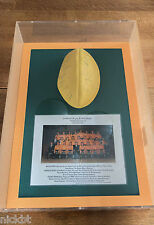 AUSTRALIAN WALLABIES 1991 RUGBY WORLD CUP CHAMPIONS SIGNED BALL IN CASE
