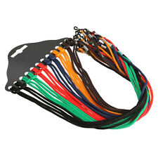 12pcs Colorful Eyewear Nylon Cord Reading Glass Neck Strap Chain Eyeglass Holder