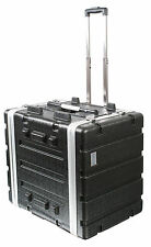 ABS Flight Case [7U TROLLEY] 19'' equipment rack for DJ gear mixing desks etc