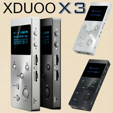 XDUOO X3 Lossless Música MP3 HIFI Reproductor HD OLED Pantalla Compatible 256GB