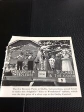 Ephemera 1967 Picture Oadby Leicester Carnival Brownies Alice Float M489