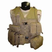 Condor Tactical MVP MOLLE/PALS Combat Assault Vest Rig +8 Pouches - Coyote Tan
