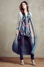 NWT  Anthropologie By  Moth Ombre Loopstitch Cardigan  Sz XS Comfy And Soft