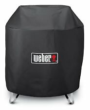 """Weber Round Outdoor 28"""" Portable Fire Pit 3/4 Length Cover 7460"""