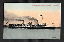 C1910 View of the Niagara Navigation Co's Steamer 'Chippewa'