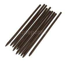 10pcs Vintage Chinese Traditional Womens Handmade Wooden Hairpin Hair Sticks