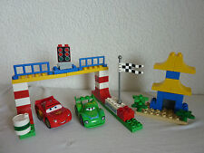 LEGO Duplo The Cars - Set 5819 - Rennen in Tokio - Carla + McQueen