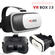 "Gafas VR BOX 2.0 3D Realidad Virtual para iPhone Samsung Sony 3,5""6'' Smartphone"