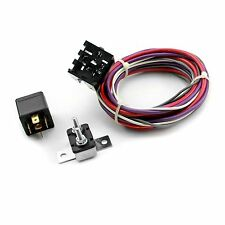 Electric Cooling Fan Wiring Harness & Relay Street Rod SBC SBF 302 350 454