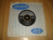 DUANE EDDY-BECAUSE THEY'RE YOUNG/REBEL WALK[LONDON] 7""