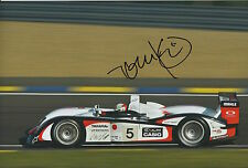 Tom Kristensen Hand Signed Audi 12x8 Photo Le Mans.
