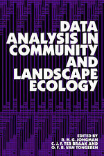 Data Analysis in Community and Landscape Ecology Jongman, R. Very Good Book