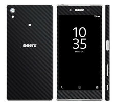 Textured Carbon Fibre Skin For SONY XPERIA Z5 - COMPACT - PREMIUM Cover Case