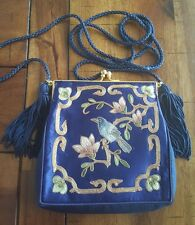Vintage Chinese Silk purse, hand embroidery