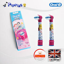 BRAUN Oral-B Bambini Stages Power Disney PRINCESS Spazzolino 2 Testine