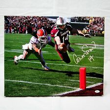Connor Shaw South Carolina Gamecocks Signed 16x20 Canvas JSA