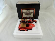 HARLEY DAVIDSON 1933 MOTORCYCLE WITH SIDECAR BANK 1/12 SCALE REPLICA #99199-93V