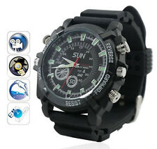 1080p HD 8GB IR Night Vision Spy Hidden Camera watch video Cam Waterproof W1000