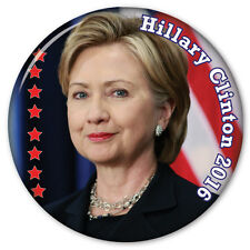"HILLARY CLINTON PRESIDENTIAL CAMPAIGN 3"" PINBACK BUTTON VOTE FOR PRESIDENT 2016"