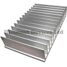 Large Aluminium Heat Sink Power Amplifier/Supply/ Transistor/IC/FET/PA (62009)