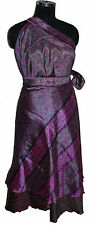 36 inch reversible sari wrap magic skirt dress 10 pcs  - XL size skirts
