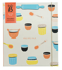 Busy B KTwo A4 Recipe File Storage Organiser with Stand New