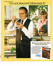 PUBLICITE ADVERTISING 064  1978  ALSA    la mousse au chocolat 2